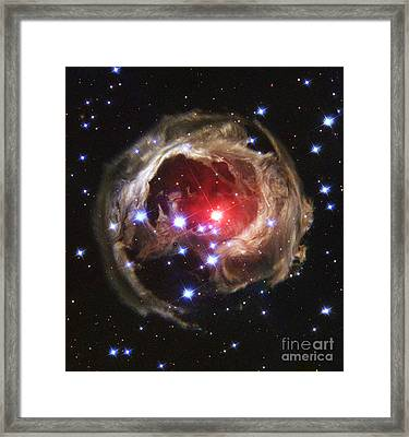 V838 Monocerotis Framed Print by Nasa