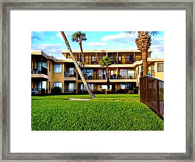 Vacation Time Framed Print by Dennis Dugan