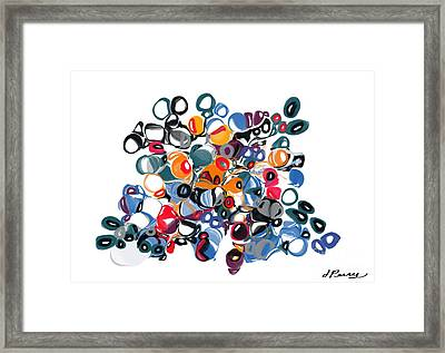 Vacillating Framed Print