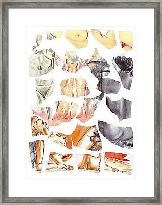 Vague Memories Framed Print by Michal Boubin