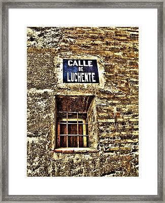Valencia - Spain Framed Print