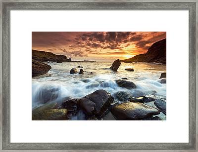 Valencia Island Framed Print by Brendan O Neill