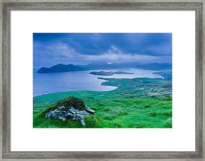 Valentia Sunrise Framed Print