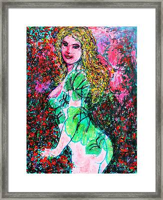 Valentina 2 Framed Print by Natalie Holland