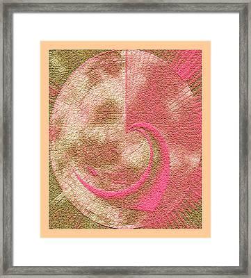 Valentine Planet Fantasy Framed Print