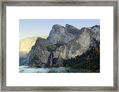 Valley Fog Framed Print