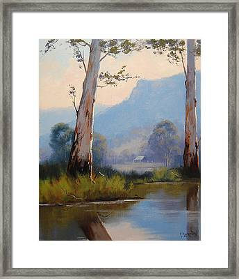 Valley Gums Framed Print