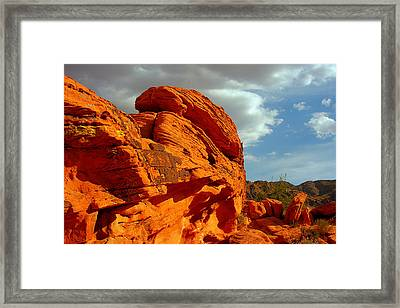 Valley Of Fire - Born To Be Wild Framed Print
