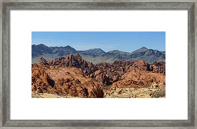 Valley Of Fire 2 Of 4 Framed Print by Gregory Scott