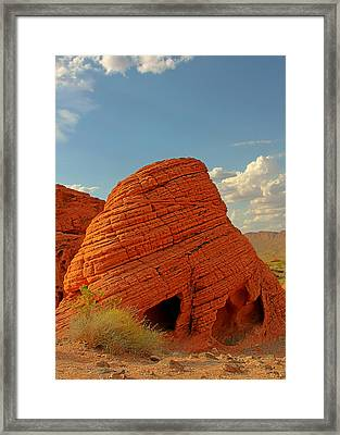Valley Of Fire Nevada - Beehives Framed Print