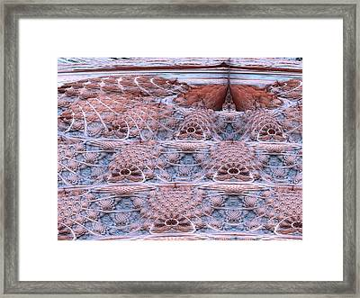 Valley Of The Kings Framed Print by Pam Blackstone