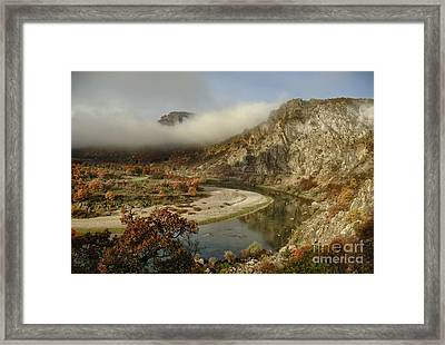 Valley Of The Vultures Framed Print