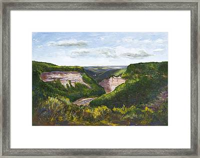 Valley Prayer Framed Print