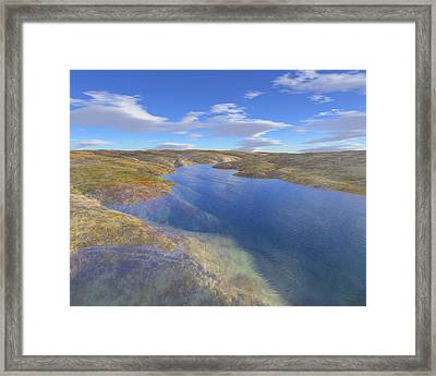 Valley Stream 2 Framed Print