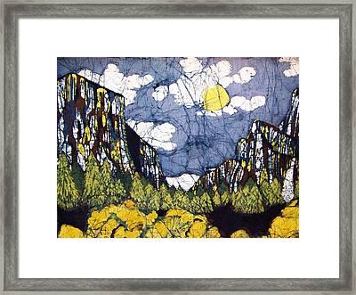 Valley View Framed Print by Alexandra  Sanders