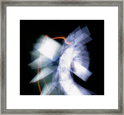 Vallo Blanc Framed Print by Erick Andrade