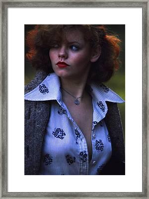 Vamp Framed Print by Franz Roth