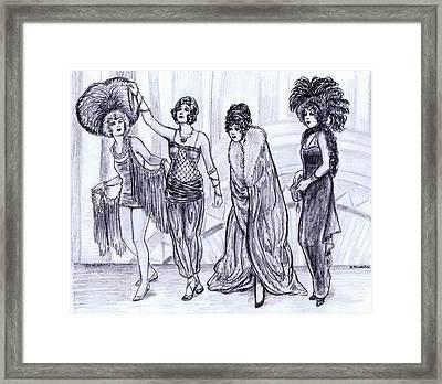 Vamps Framed Print by Mel Thompson