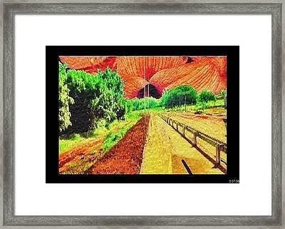 Framed Print featuring the painting Van Gogh by Beto Machado