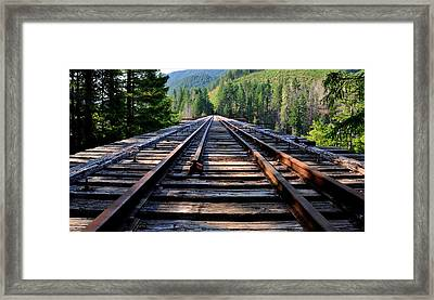 Vance Creek Bridge Framed Print
