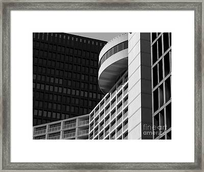 Vancouver Architecture Framed Print by Chris Dutton