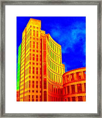 Vancouver Library 4 Framed Print by Randall Weidner