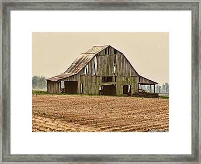 Framed Print featuring the photograph Vanishing American Icon by Debbie Portwood