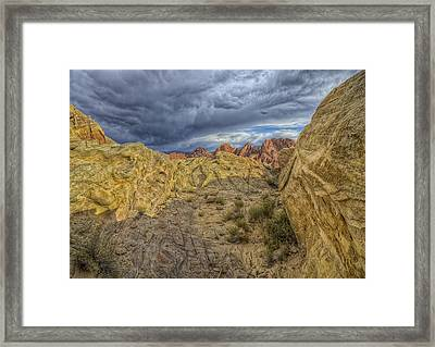 Vantage Point Framed Print by Stephen Campbell