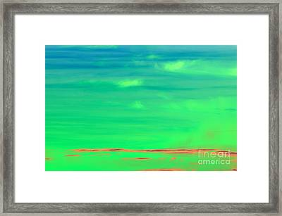 Vapor Framed Print