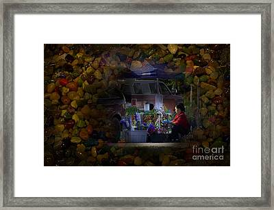 Variant Constance Framed Print by The Stone Age