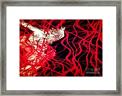 Vascular Framed Print by Tashia Peterman