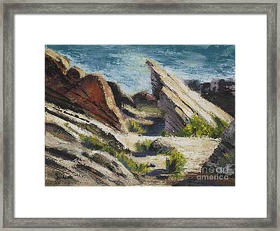 Vasquez Pass Framed Print by Rich Arons