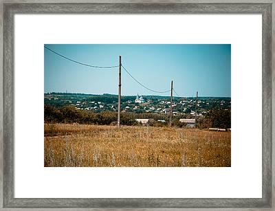 Vastness Framed Print by Sasha Gurkova