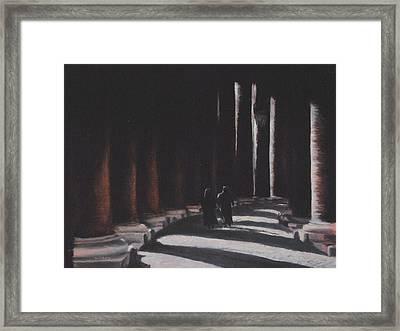 Vatican Contemplation Framed Print