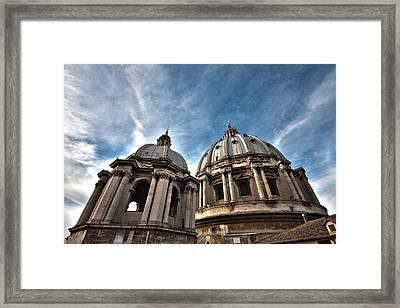 Vatican Dome Framed Print