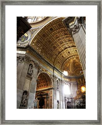 Vatican Light Framed Print