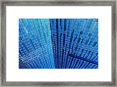 Vector Space Framed Print
