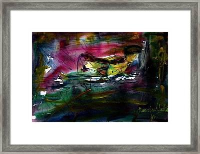 Veekay Goin Framed Print