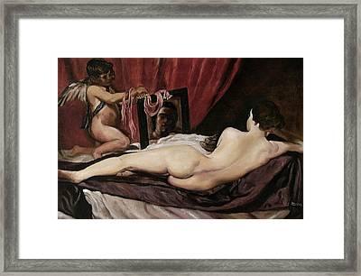 Velazquez's Venus Framed Print