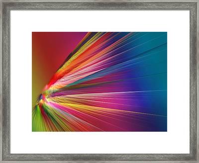 Velocity Framed Print