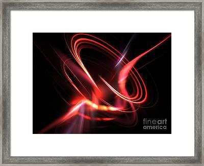 Velocity Framed Print by Kim Sy Ok