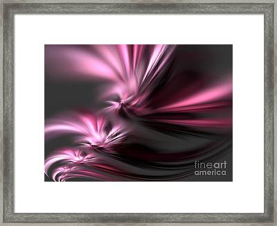 Velvet Angels Framed Print by Kim Sy Ok