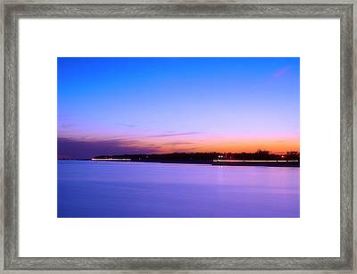 Framed Print featuring the photograph Velvet At Dusk by Brian Wright