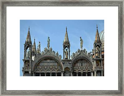 Venetian Architecture. Framed Print by Terence Davis