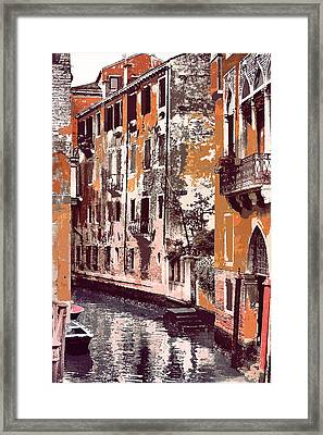 Venetian Serenity Framed Print by Greg Sharpe