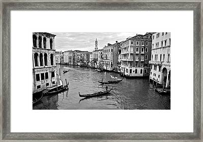 Framed Print featuring the photograph Venezia by Eric Tressler