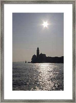 Framed Print featuring the photograph Venezia by Raffaella Lunelli