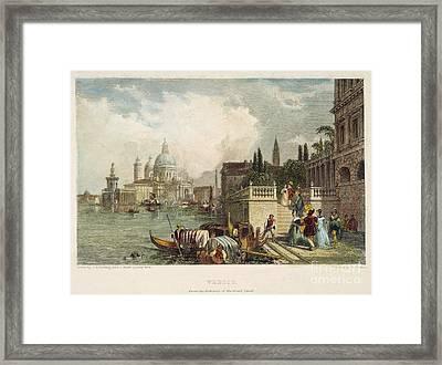 Venice, 1833 Framed Print