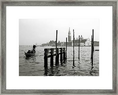 Venice Canal Grande II Framed Print by Nina Papiorek