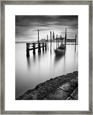 Venice Canal Grande Framed Print by Nina Papiorek
